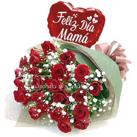 imagenes de rosas feliz dia delas madres ramo de rosas rojas feliz dia madre flores y chocolates