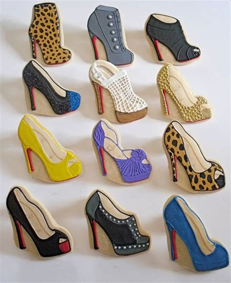 high heel cookies christian louboutin cookie shoes collection stylefrizz
