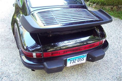 porsche 911 whale tail turbo whale tail tea tray turbo wing factory original