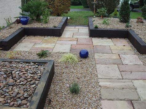 Paver And Gravel Patio Paving And Patios Lynch Garden Design