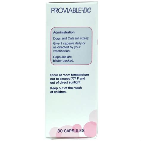 proviable for dogs proviable dc 30 capsules for cats and dogs healthypets