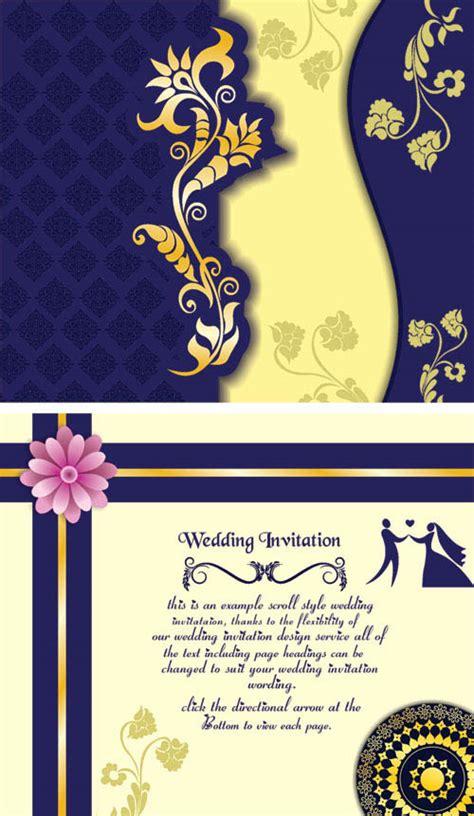 card template corel free wedding invitation sles coreldraw wedding card