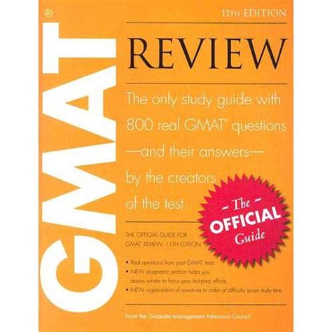 Official Mba Guide Uk by учебник The Official Guide For Gmat Review Official Guide
