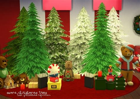 Purple Livingroom christmas tree 187 sims 4 updates 187 best ts4 cc downloads