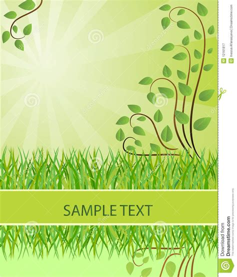 background que es ecological background vector illustration royalty free