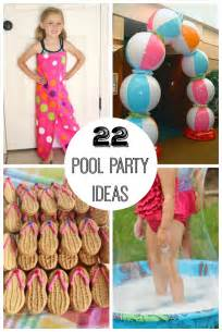 22 summer pool party ideas make and takes