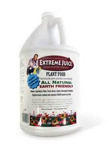 All Natural Flower Food by Extreme Juice 1 Gal All Natural Plant Food