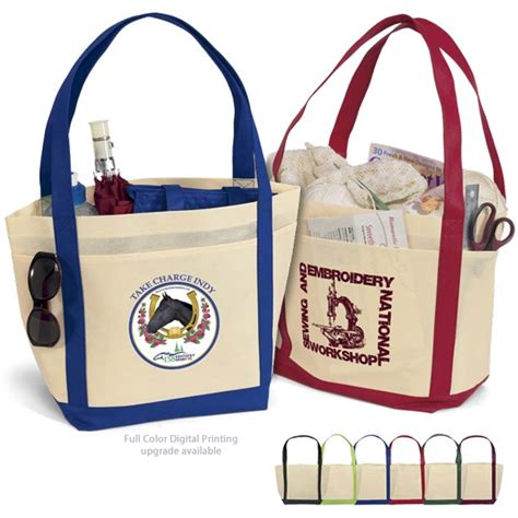 Customized Bags promotional saratoga nonwoven tote bag 39st1812