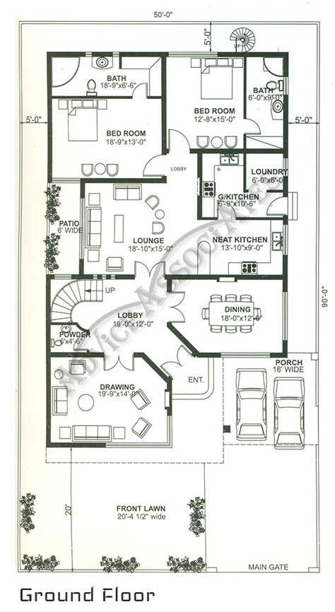 Porch House Plans by 1 Knal House Design 6 Bed House Floor Plan