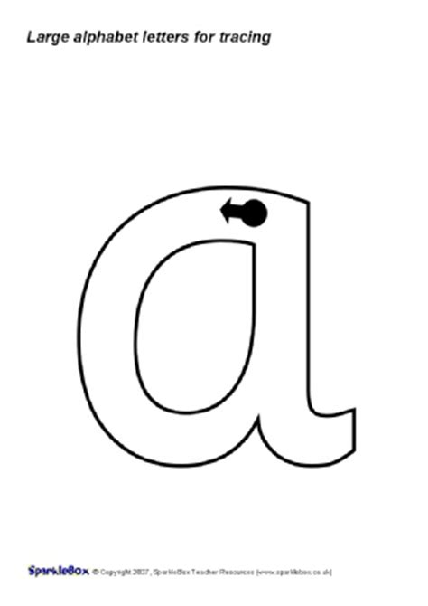 printable alphabet letters sparklebox common worksheets 187 printable letter formation sheets