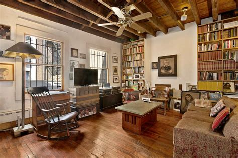 carriage house interiors gorgeous west village carriage house boasts a lovable interior with lots of wood 6sqft