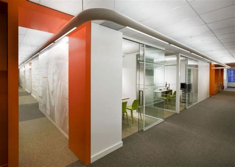 modern office wall modern office with orange color d s furniture