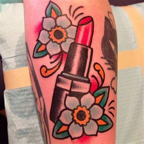 tattoo lipstick for sale traditional lipstick tattoo on leg jpg 612 215 612 tattoos