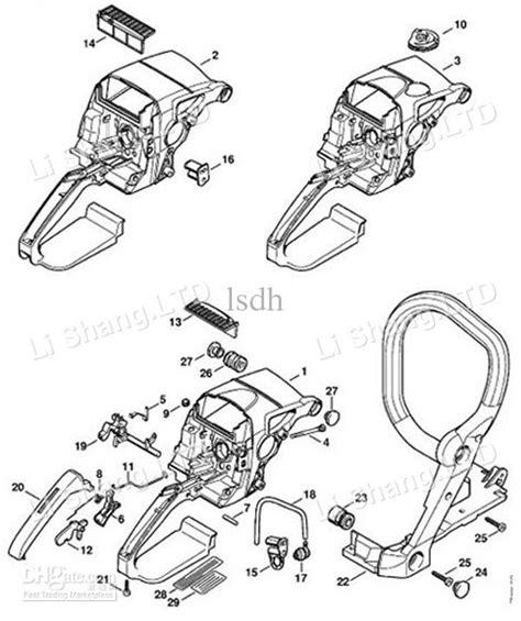 stihl ms290 parts diagram stihl ms390 parts diagram diarra within stihl ms290