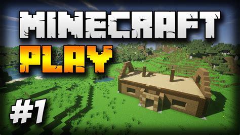 Find To Play Minecraft With Minecraft Play 1 Budowa Domu Fundamenty ściany