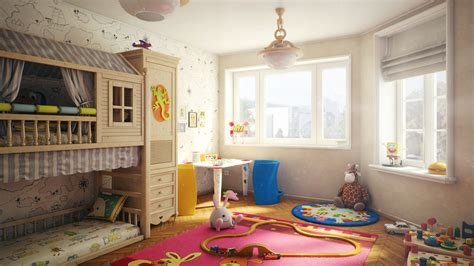 child room child s room by igor kulkov scenes 3dtotal com