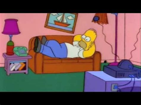 homer couch simpsons couch gags season 3 youtube