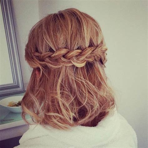 wedding hairstyles half up half down for short hair 26 stunning half up half down hairstyles braided half