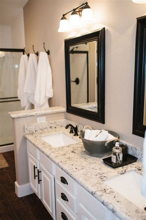 Granite Bathroom Vanity Our Vacation Home In Flagstaff Vanities Kitchen Sinks And Cabinets