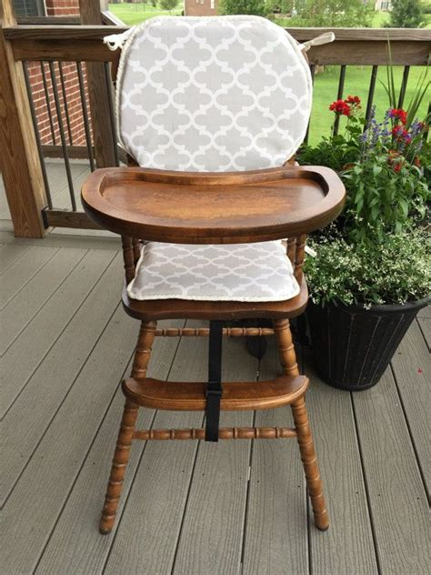 grey wooden high chair 17 best images about wooden baby high chair cover on