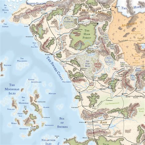 map of faerun faerun hex map related keywords faerun hex map keywords keywordsking
