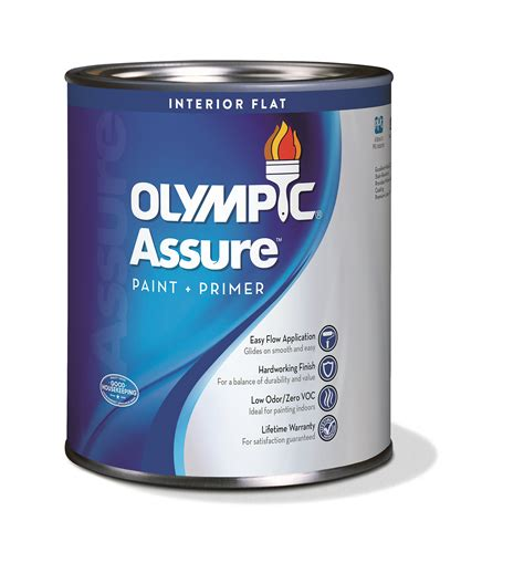 olympic brand by ppg introduces assure interior an ppg paints coatings and materials