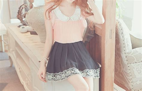 Dress Larry Koreanstyle kawaii chicas