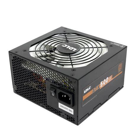alimentatore 500w pc ldlc bg 500 quality select 80plus bronze ldlc bg 500