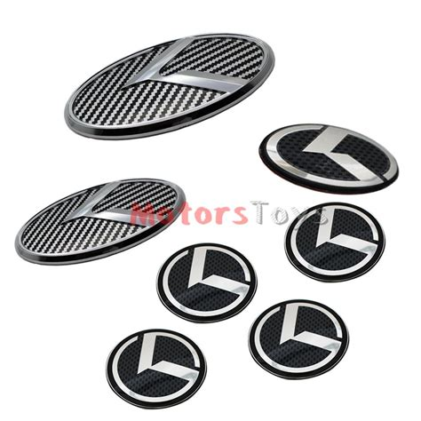 Kia Optima Emblem Set 7pcs 3d K Speed Emblem Badge Set Grille Trunk Steering