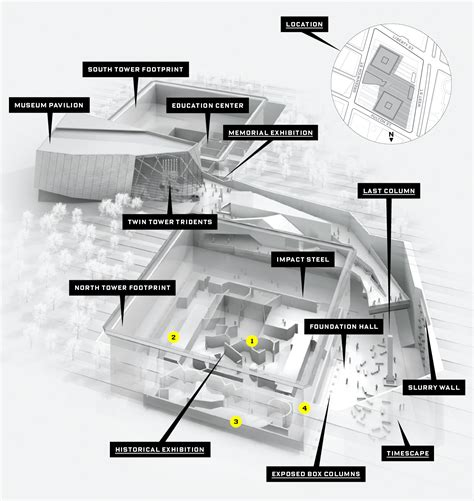 Ground And First Floor Plans by The Near Impossible Challenge Of Designing The 9 11 Museum