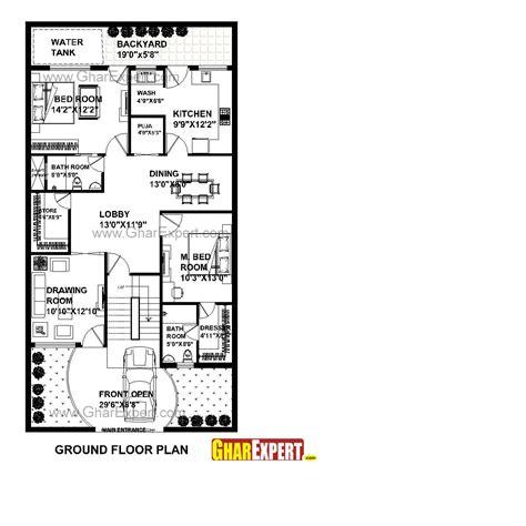 home design for 30x60 plot house plan for 31 feet by 60 feet plot plot size 206