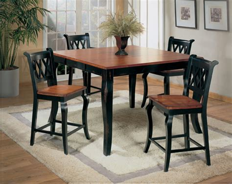 pub style dining room table dinning set dining room sets pub style table and chairs