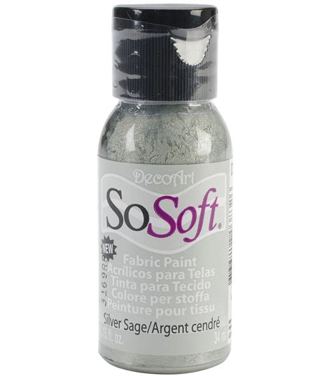 acrylic paint joann fabrics decoart sosoft fabric acrylic paint 1 15 fl oz jo