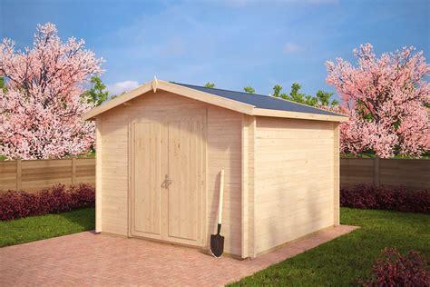 cobertizos de jardin cobertizo de almacenamiento de jard 237 n 9m2 3x3m 40mm