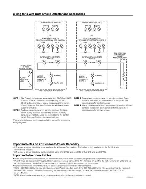 duct smoke detector wiring diagram efcaviation
