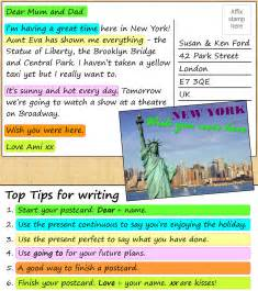 a postcard from new york learnenglish
