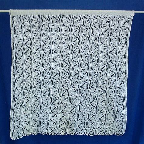 lace curtain patterns 17 best images about knitting curtains on pinterest