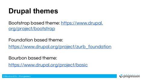 drupal theme zurb foundation tools for modern web design