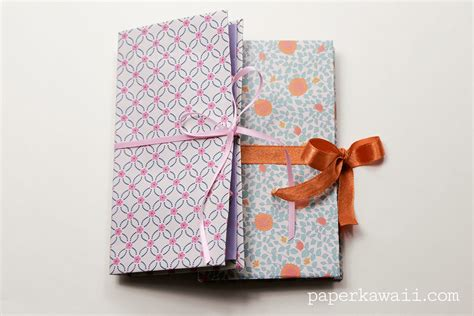 Paper Origami Book - origami thread book tutorial paper kawaii