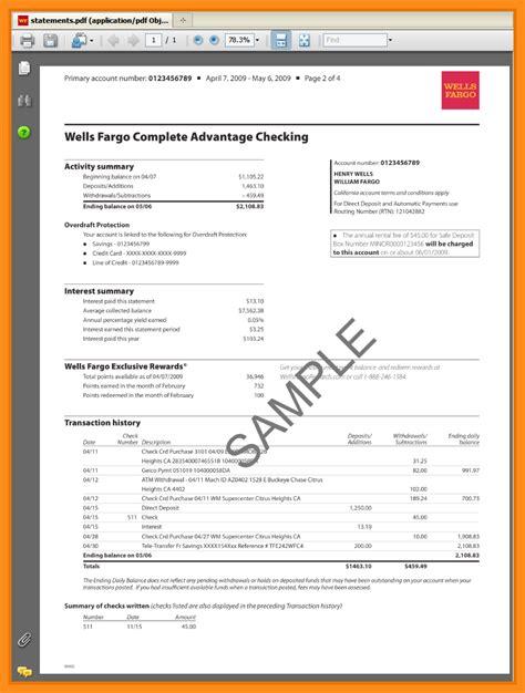 Bank Letter For Direct Deposit Citibank 12 Bank Statements Exles Resume Setups