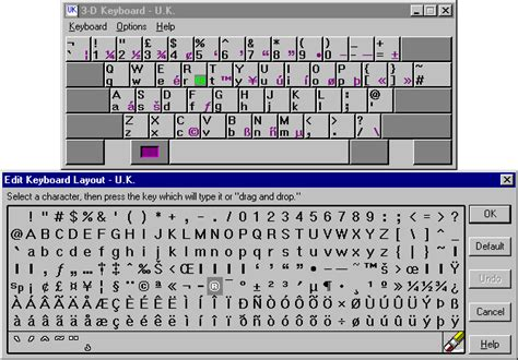 keyboard layout key names computer keyboard keys names
