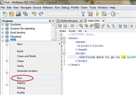 servlet tutorial on netbeans creating first servlet application in netbeans ide