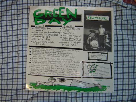 Cd Import Green Day Kerplunk let your freak flag fly kerplunk lp