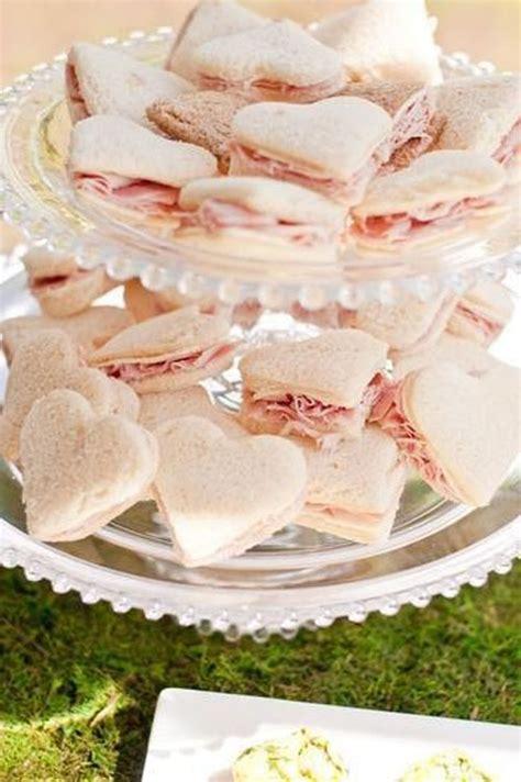 16 ideas for bridal shower food