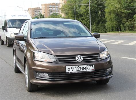 volkswagen polo sedan 2015 новый фольксваген поло седан для народа