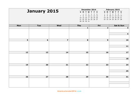 january 2015 calendar template great printable calendars
