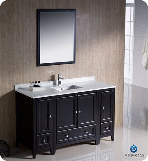 bathroom vanity 54 inch fresca oxford single 54 inch transitional bathroom