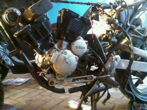 Piringan Depan Gede Bebek yamaha scorpio modif v dohc 300 cc pertamax7