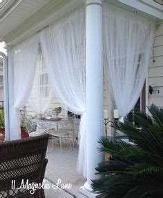 Television Torn Curtain Privacy For Patios Porches Amp Backyards On Pinterest