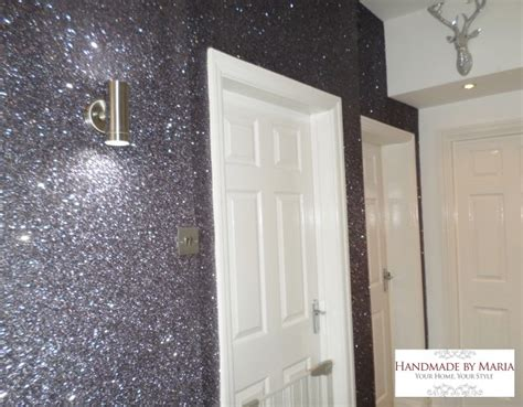 Glitter Wallpaper Liverpool | glitter wallpaper handmade by maria